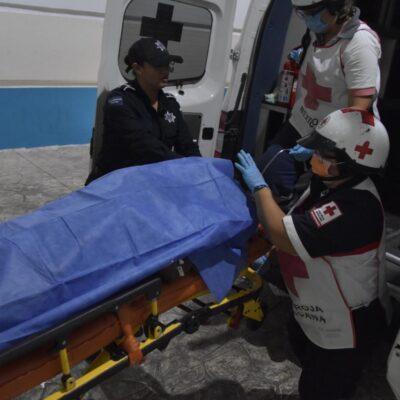 Levantan y golpean a operador de mototaxi en Cancún