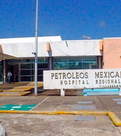 Reportan familiares muerte de cuarta persona por medicamento contaminado en hospital de Pemex en Villahermosa