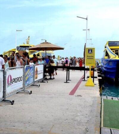Cooperativistas cesan actividades en Puerto Juárez por falta de turismo