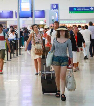 Concluye 'fin de semana largo' con más de 500 operaciones en aeropuerto de Cancún