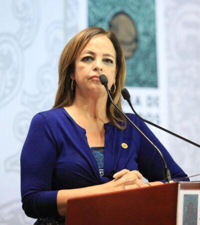 Diputada de Morena lamenta subordinación de su bancada a las iniciativas de AMLO