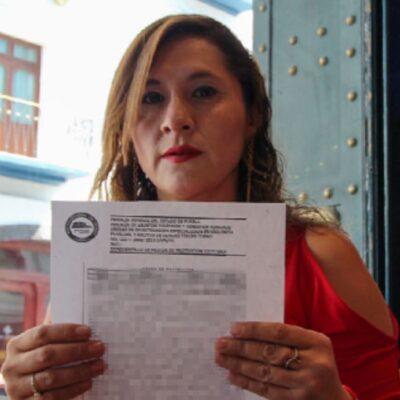 Diputada suplente de Morena en Puebla denuncia a su esposo por acoso y violencia familiar