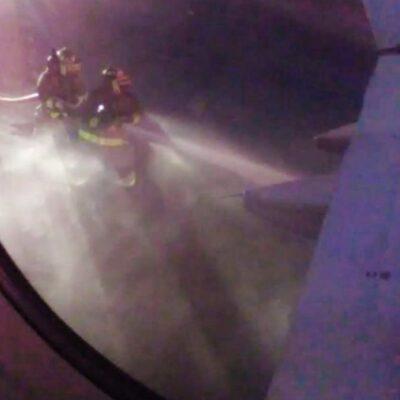 EMERGENCIA EN EL AIRE: Avión a Chetumal es desviado a Cancún por incendio en motor