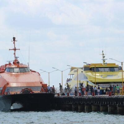 CANCELAN CORRIDAS DEL FERRY POR COVID-19: Anuncia la naviera Winjet suspensión de dos corridas y retornos en la ruta Playa-Cozumel por pandemia, a partir de mañana