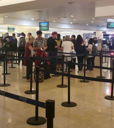 Instalación de filtros sanitarios en el Aeropuerto Internacional de Cancún le corresponde a autoridades de Salud, afirma ASUR