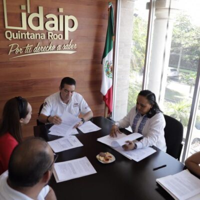 SE REÚNE DIPUTADA CON IDAIPQROO PARA DISCUTIR INICIATIVA SOBRE TRANSPARENCIA: No legislar aislados sino involucrar a todos los sectores que inciden en la toma de decisiones, plantea Cristina Torres