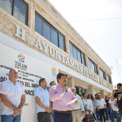 Recaudación del impuesto predial se destinará a obras de infraestructura y servicios, afirma Víctor Mas