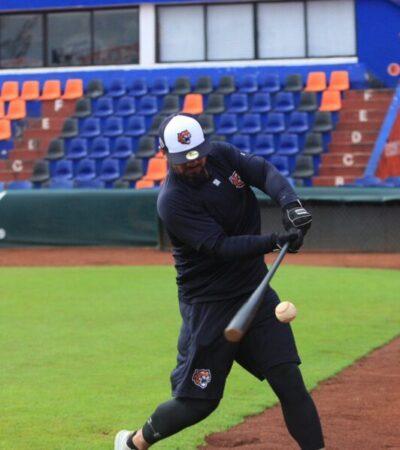 Regresa Javier Robles a los Tigres de Quintana Roo como instructor de bateo