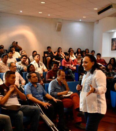 DA DIPUTADA CONFERENCIA SOBRE REFORMAS FISCALES 2020 EN UNIVERSIDAD: Advierte Cristina Torres que es necesario estar preparados para dar formal cumplimiento a nuestras obligaciones fiscales