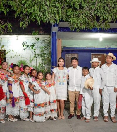 "Inauguran la ""Fiesta Tradicional Maya 2020"" en Tulum"