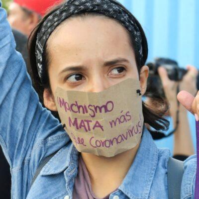 MUJERES TOMAN LAS CALLES DE CANCÚN: Protestan cientos para visibilizar que existe una desigualdad real entre hombres y mujeres