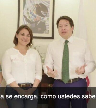 Reyna Durán busca respaldo de diputados federales, en medio de rumores de su destitución en la JUGOCOPO