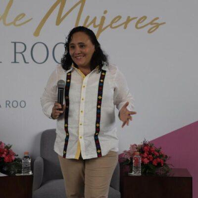 PRIMER PARLAMENTO FEMENINO: Llama Cristina Torres a la unión entre mujeres para salir adelante y que QR sea número uno en sororidad