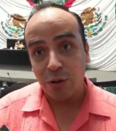 Culpa el diputado Fernando Chávez a medios de comunicación por tergiversar información policíaca y no esperar información oficial