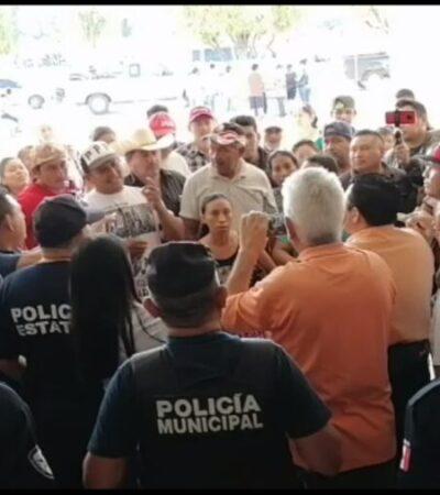 Se agudizan problemas entre dos comunidades de José María Morelos
