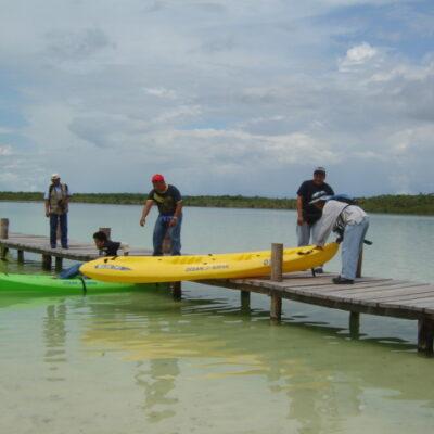 OPERATIVO DE RESCATE EN MARCHA: Buscan a dos turistas nacionales desaparecidos desde anoche en la laguna Nopalitos al sur de Tulum