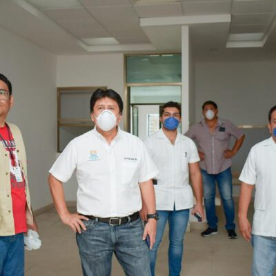 Rehabilitan Hospital Comunitario de Tulum para la contingencia sanitaria por el COVID-19