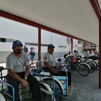 PARALIZA EL VIRUS A TRICICLEROS DE PLAYA DEL CARMEN: Gremio reduce operaciones hasta 90% por caída turística y suspensión de corridas del ferry