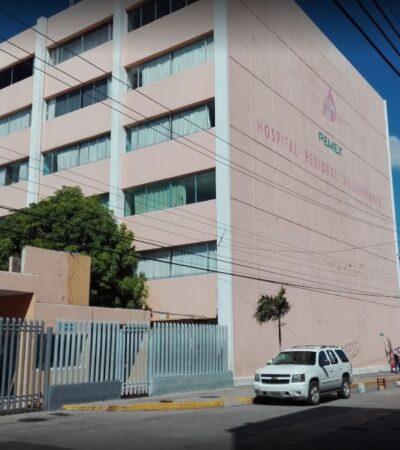 Medicina contaminada causa un muerto y 67 intoxicados en hospital de Pemex en Villahermosa