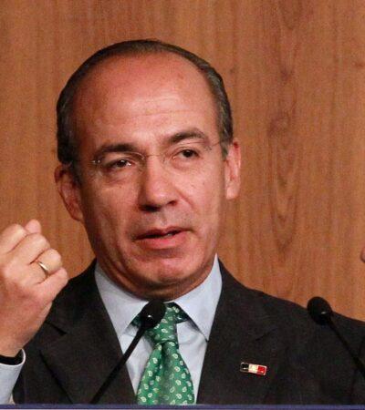 Gobierno de México paga por atacarlo en redes, asegura Felipe Calderón