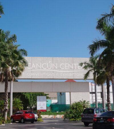 Pospone Cancún Center todos sus eventos programados para marzo y abril