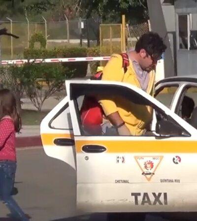 Prevén taxistas pérdidas económicas del 50% debido a contingencia sanitaria en Chetumal