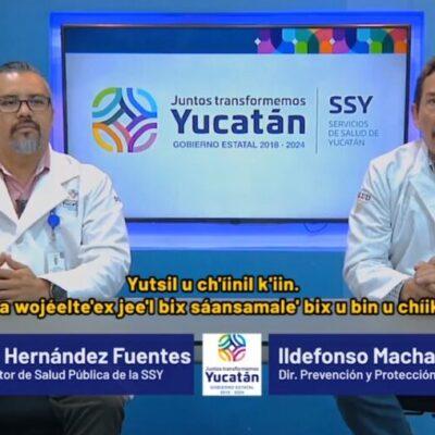 Se reportan graves dos de los 24 contagiados de Covid-19 en Yucatán