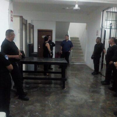 Aplican protocolos de protección por COVID-19 a la población en las cárceles de Quintana Roo