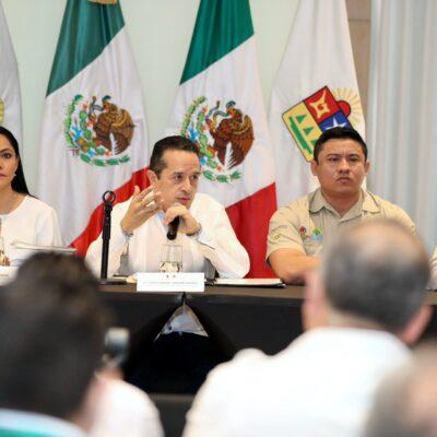 Quintana Roo se mantiene libre de coronavirus y no cuenta con restricciones de viaje: Carlos Joaquín