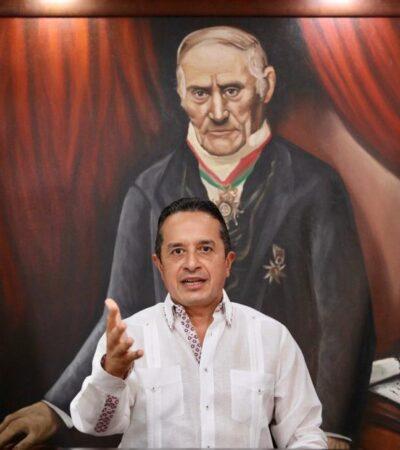SALVAR VIDAS, APOYAR A FAMILIAS Y RÁPIDA RECUPERACIÓN, LA ESTRATEGIA: Anuncia Carlos Joaquín plan de apoyos a empresas y ciudadanos por contingencia del COVID-19