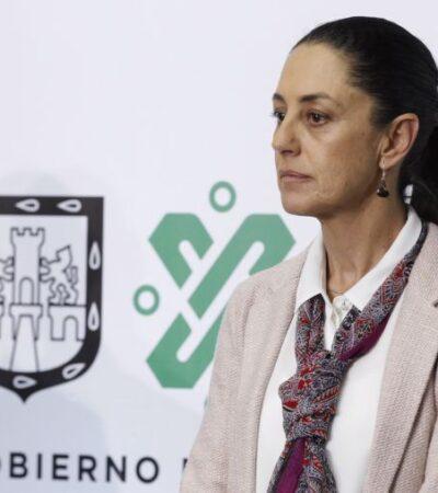 Anuncia Claudia Sheinbaum cierre de cines, bares y teatros en la CDMX por coronavirus