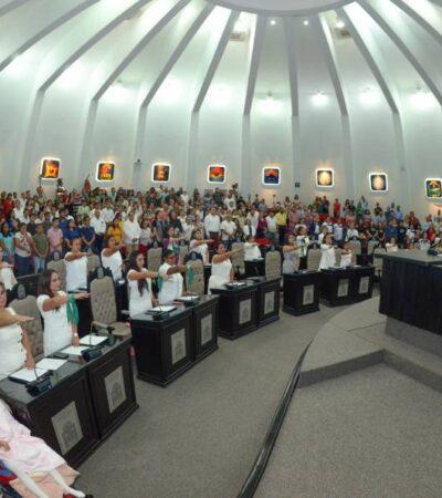 Exponen parlamentarias propuestas en pro de las mujeres de Quintana Roo