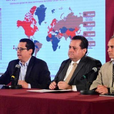 SUMAN 26 CASOS CONFIRMADOS DE CORONAVIRUS EN MÉXICO: Reconocen 105 casos sospechosos de la enfermedad