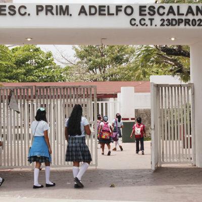 Estudiantes con síntomas de gripe y resfriado podrán ausentarse de clases en Cozumel