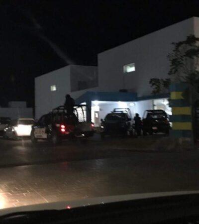 Disparan a ministeriales en Playa del Carmen; no hay heridos, pero tampoco detenidos