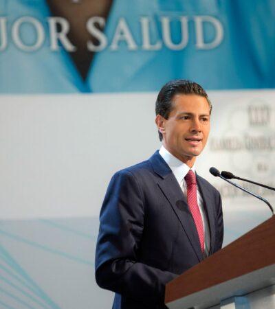 Desviaron más de 4 mil mdp del sector salud a través de 837 empresas fantasma en gestión de Peña Nieto