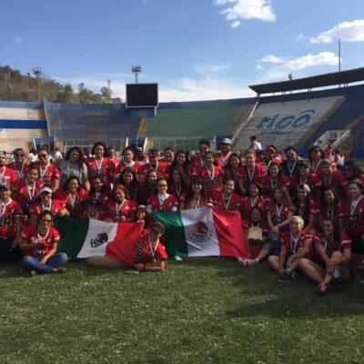 Pide ayuda equipo mexicano de fútbol americano femenil varado en Honduras por el COVID-19