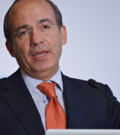 CALDERÓN SIENTE 'PENA' POR AMLO: Critica expresidente anuncio tardío de la fase 2 contra coronavirus