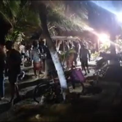 Interrumpe policía fiesta en hotel de Mahahual