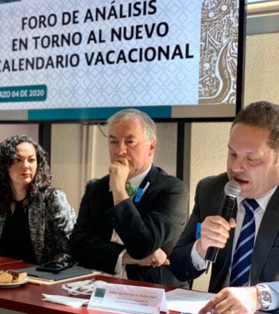 Llama Asetur a cerrar filas en torno a amenazas sanitarias para proteger al sector turístico de México