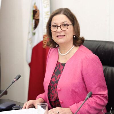 Martha Bárcena, embajadora de México en EU, da negativo a coronavirus