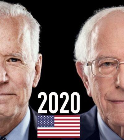 CARA A CARA, PERO SIN PÚBLICO PRESENTE: Biden y Sanders debatirán esta noche…