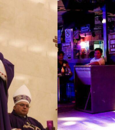 Por el coronavirus, 'Dios' y el 'Diablo' se pusieron de acuerdo en Yucatán: suspenden misas y cierran 'table dance'