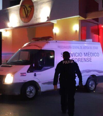 Hallan muerta a mujer en centro nocturno de Cozumel; presumen suicidio