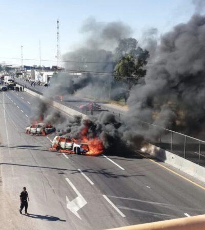 Al menos seis municipios de Guanajuato se hallan sitiados por el cártel de 'El Marro'