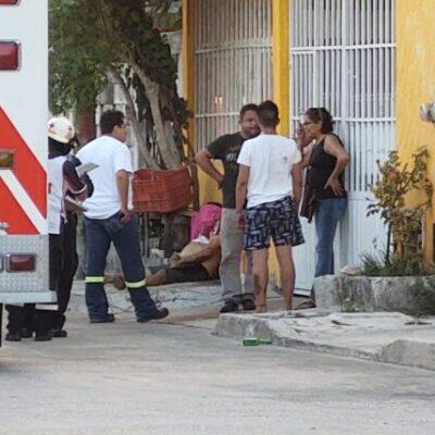 ATAQUE FRENTE A UNA PIZZERÍA EN CANCÚN: Un muerto y dos heridos, saldo en la Región 101