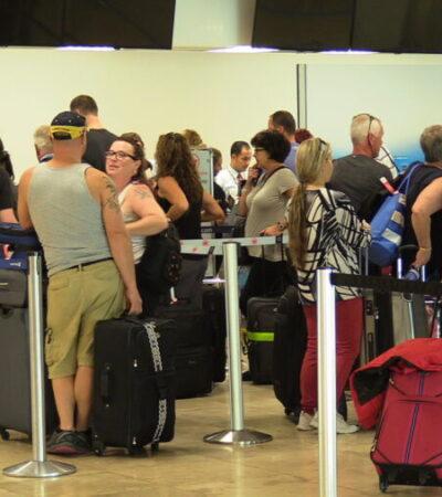 Se mantienen protocolos de emergencia en el Aeropuerto Internacional de Cozumel para evitar casos de coronavirus