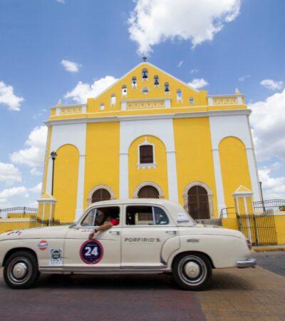 Anfitriones de lujo en la Península de Yucatán para el recorrido de la 7a edición del Rally Maya México