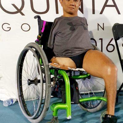 Mexicano impone nuevo récord mundial de paranatación en Alberca Olímpica de Cancún