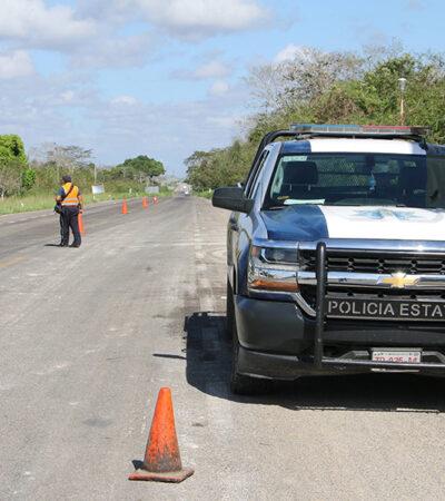 Impiden paso a taxista con fiebre y tos en José María Morelos y lo regresan a Yucatán